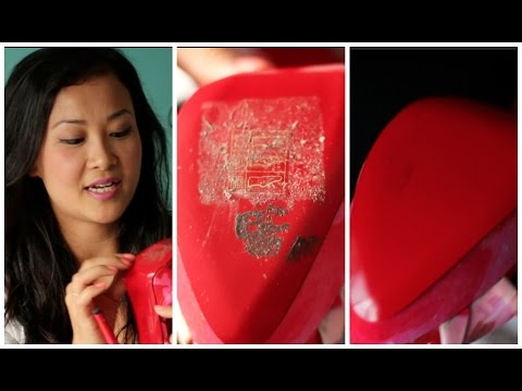 HOW TO REMOVE STICKY STICKER RESIDUE OFF YOUR CHRISTIAN LOUBOUTINS