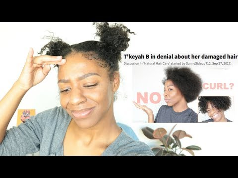 I'M NOT NATURAL & I'M IN DENIAL?? What Changed My Curl Pattern + Damaged My Hair?!