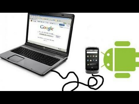 How to run Internet on Windows XP;7;8 via android mobile | Alternative method