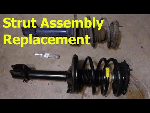 How to Replace a Rear Strut Assembly
