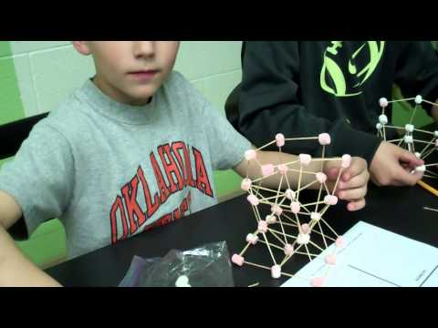 Marshmallow and Toothpick Structure Build Part 2