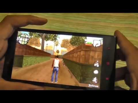 GTA San Andreas Gameplay on Xiaomi Redmi Note