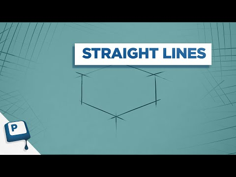 Drawing Straight Lines in Photoshop