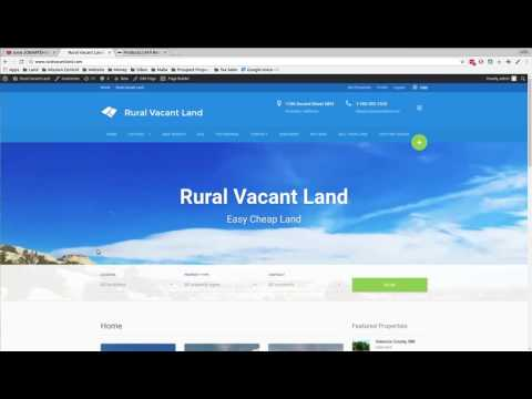 How to search mineral rights, easements and title on real estate.