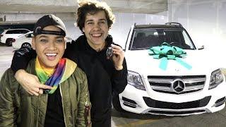 SURPRISING HIM WITH DREAM CAR!! (EMOTIONAL)