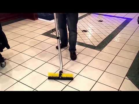 Restaurant Floor Cleaning Machine - Dispense N Vac Space Saver