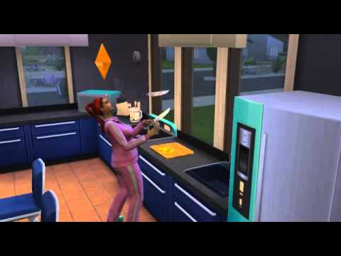 The Sims 4 - Level 9 of cooking skill