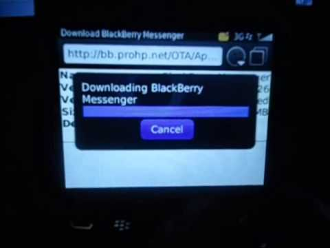 How to install BBM 7 on Blackberry #Curve #Bold #Torch