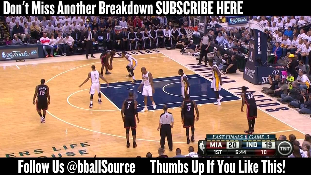 Heat at Pacers Game 3: Miami Gets Reaquainted With LeBron Down Low
