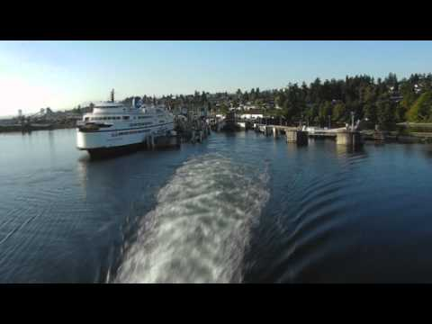 Nanaimo Driving on Ferry Time Lapse