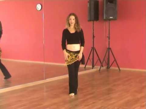 Belly Dance Lesson #2 - BellyDanceBoulevard.com dancing lessons