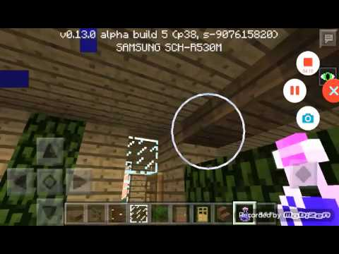 how to build a wooden house mcpe