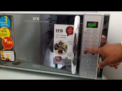 How to use ifb 30 liter convection microwave model 30sc4 full demo