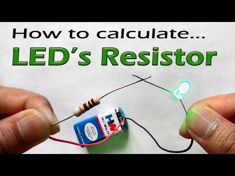 How to calculate resistor value for LEDs in circuit @9V and 12V