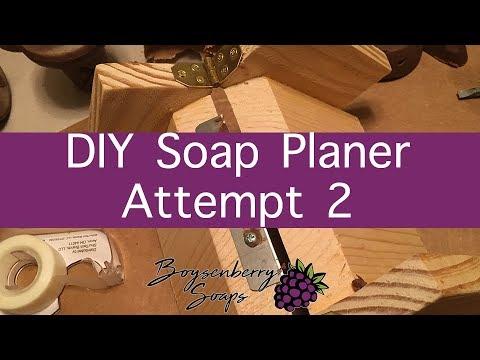 DIY Soap Planer Second Attempt. SUCCESS!