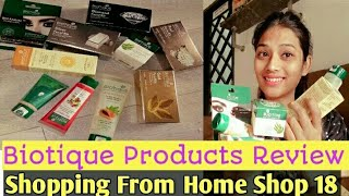 Biotique Herbal Products only in 999 Rs. | Home Shop 18 Products | Anjri Sheikh
