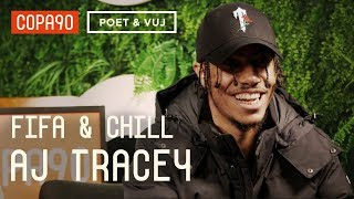 Spurs, Giggs & Grime | AJ Tracey FIFA and Chill ft. Poet and Vuj