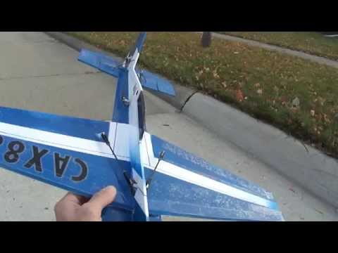 3D Profile plane, foam board build. This is one nice flyer.
