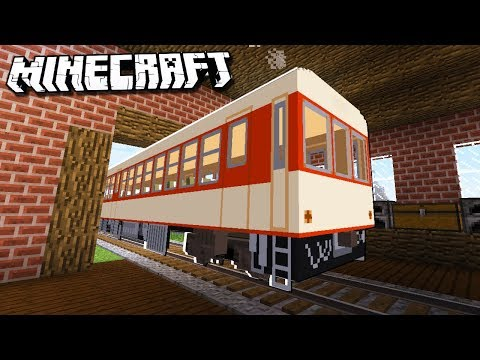 Make a Realistic TRAIN HOUSE in Minecraft!