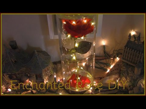 Beauty & the Beast DIY Enchanted Rose