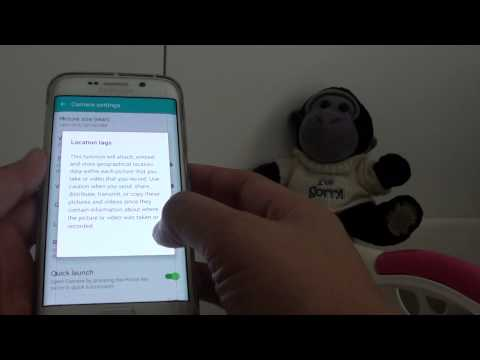 Samsung Galaxy S6 Edge: How to Enable / Disable GPS Location Tag