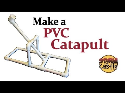 How to Make a PVC Catapult
