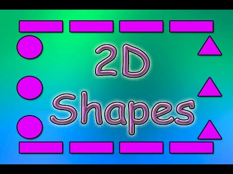 Shapes for Kids   2D Shapes   Shapes Song    Educational Songs   Children's Songs   Jack Hartmann