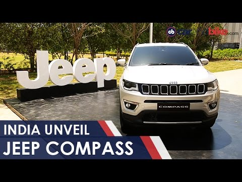 Jeep Compass India Unveil & Price Expectations - NDTV CarAndBike