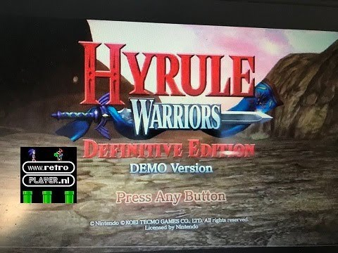 3  Minutes of  Hyrule Warriors: Definitive Edition DEMO version Gameplay (Nintendo Switch)