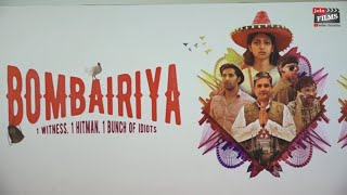 BOMBAIRIYA-One Mad Day in Mumbai Official Trailer Launch| Best New Film Trailers|#BollywoodHappening