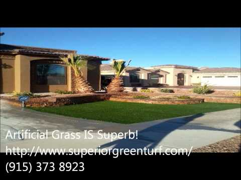 The Best Artificial & Synthetic Grass: SUPERIOR GREEN TURF 1.wmv