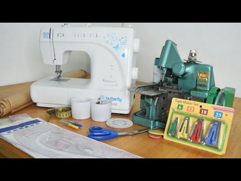 MY BASIC SEWING/PATTERN DRAFTING TOOLS & EQUIPMENT | Cisca Stitches and Designs