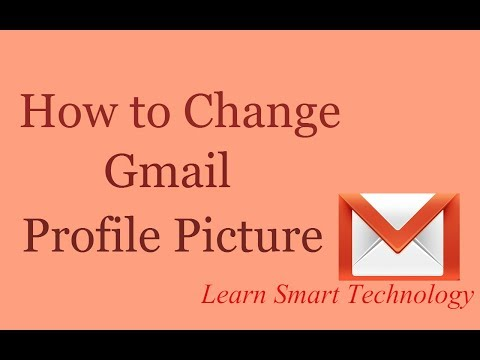 How to Change Gmail/Email Profile Picture