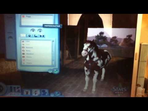 Sims 3 Pets Create-A-Pet Demo - Horse Animations [HD]