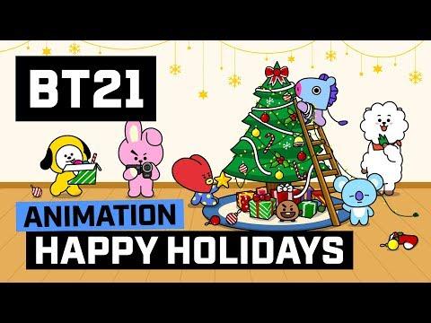 [BT21] Happy Holidays!