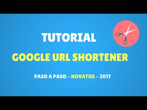 Tutorial Google URL Shortener