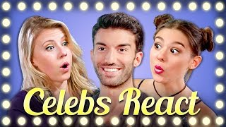 TRY NOT TO FLINCH CHALLENGE (CELEBS REACT)