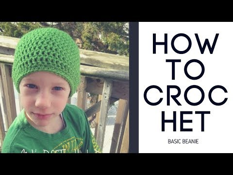 How to Crochet a Basic Beanie