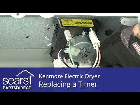 How to Replace a Kenmore Electric Dryer Timer