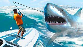 DEEP SEA FISHING IN GTA 5! (GTA 5 Mods)