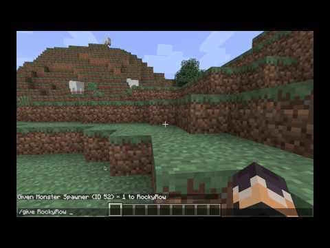 How To Get A Mob Spawner in Minecraft 1.5.1