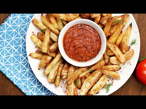 How To Make Perfect Crispy Potato Fries (No Oil)