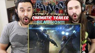 BATMAN: Arkham Origins Official Trailer - REACTION!!!