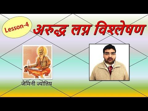 अरुद्ध लग्न विश्लेषण (Arudha Lagna Analysis) | Lesson-4 | Jaimini Jyotish | हिंदी (Hindi)