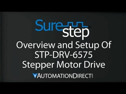 Stepper Motor Drive STP-DRV-6575 - Overview, How to Setup, and Operate