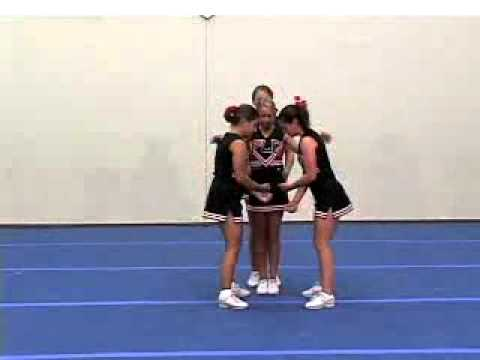Advanced Stunts Cheerleading Video