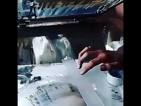Sablon plastik manual bandung
