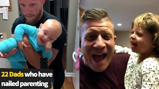 22 Dads Who Have Totally NAILED Parenting | Funny Dads & Babies 2021