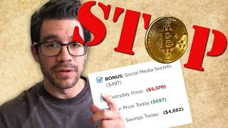Tai Lopez NEEDS TO STOP Selling Me His Bitcoin Course