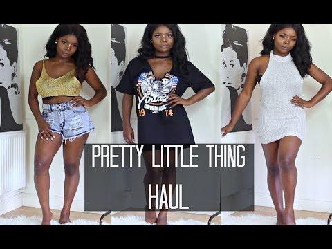 Pretty Little Thing Summer Try On Fashion Haul 2017 | MsDebDeb